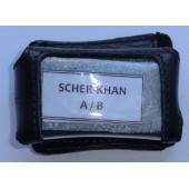 Кожаный чехол SCHER-KHAN A/B