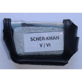 Кожаный чехол SCHER-KHAN 5/6/LOGICAR A/B